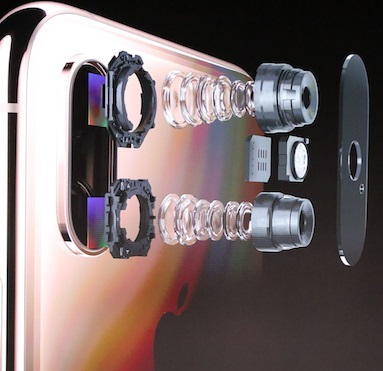 iPhone XS ja XS Max kamera
