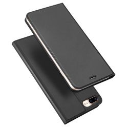 Apple iPhone 7 Plus/8 Plus Dux Ducis Skin Pro suojakotelo,  tummanharmaa